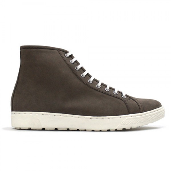 [클리어런스] Zipper Light_Brown Nubuck